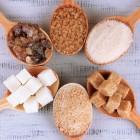 Azúcar de distintos tipos
