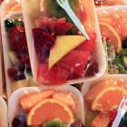 Bandejas de frutas variadas