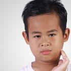 Niño con paperas