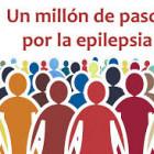 Caminando un millón de pasos por la epilepsia