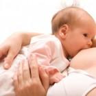 recién nacido lactando