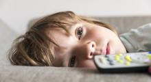 Niño desconectado