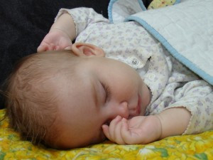 Bebé durmiendo
