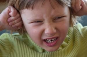 Niño con estrés