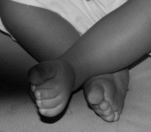 Niño con miositis
