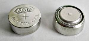 Pilas de botón
