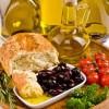 Algunos componentes de la dieta mediterránea